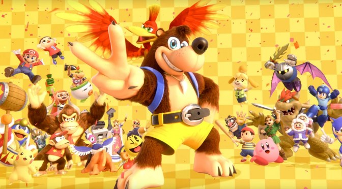 Banjo y Kazooie llegan a Super Smash Bros Ultimate