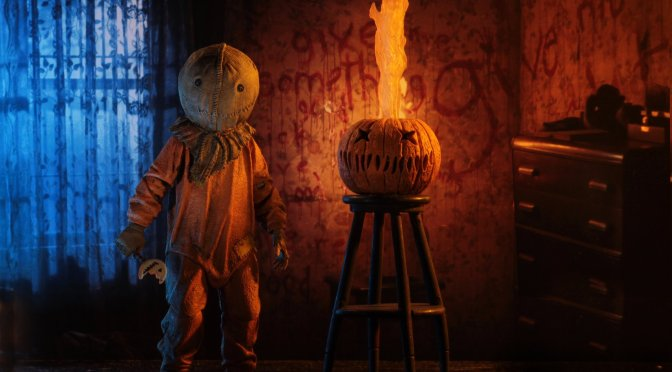 NECA: Trick 'r Treat 7″ Scale Action Figure – Ultimate Sam shipping date released