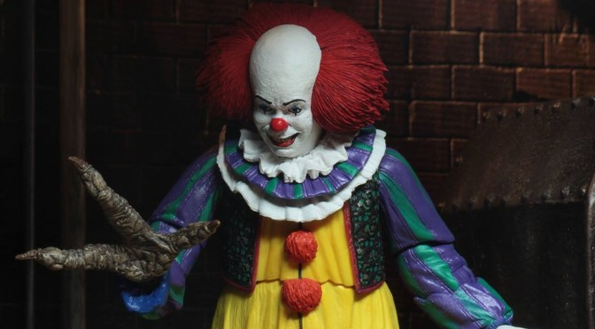 NECA: 2nd version of Ultimate Pennywise from 1990 IT is almost ready to ship