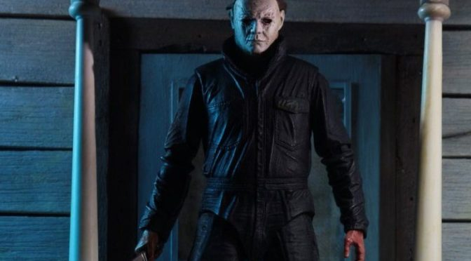 Michael Myers from the 2018 Halloween Movie will be ready to ship out!