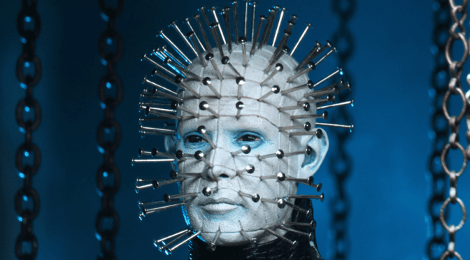 Behind-the-scenes look at the head sculpt for our Ultimate Pinhead