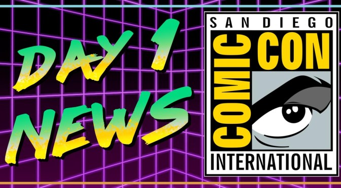 NECA SDCC Day 1 Highlights