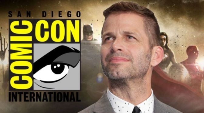 Se ha visto un anuncio de 'Justice League': Zack Snyder Cut en SDCC