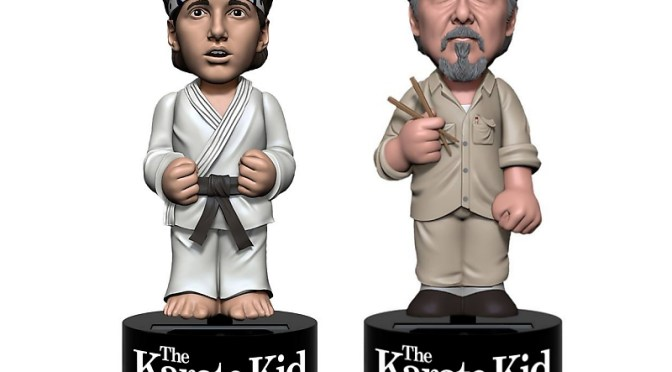 NECA Announcement The Karate Kid – Body Knocker – Mr. Miyagi & Daniel