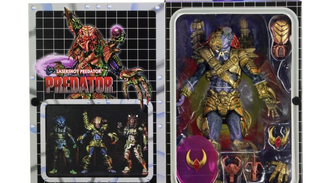 Don't miss out the final packaging  for the Ultimate Laser Shot Predator