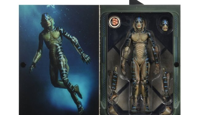 The 7″ Scale Amphibian Man  will be releasing next month!