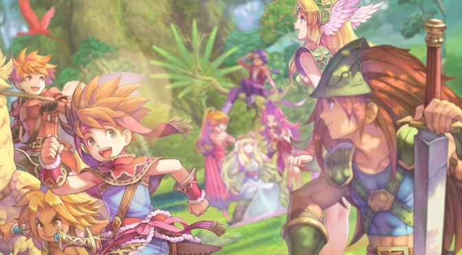 Consigue hoy la edición física de Collection of Mana para Nintendo Switch