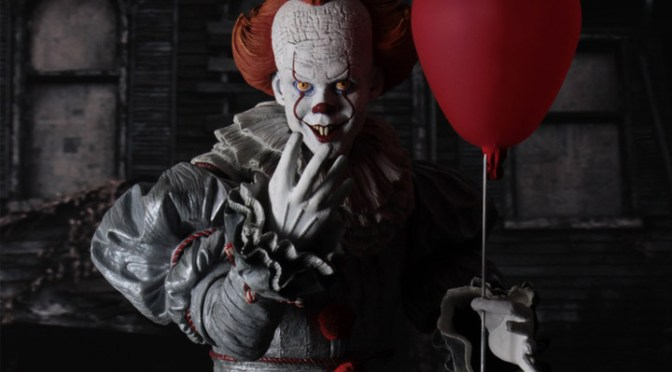 Now available in limited quantities IT Movie(2017) Quarter Scale Pennywise!
