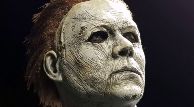 NOW AVAILABLE IN LIMITED QUANTITIES QUARTER SCALE MICHAEL MYERS!