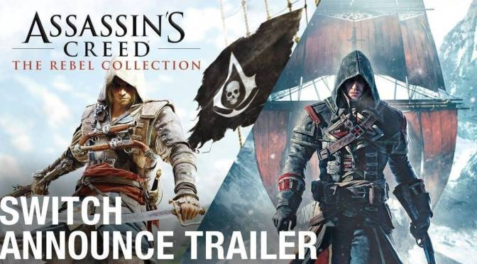 Ubisoft revela Assassin´s Creed: The Rebel Collection para Nintendo Switch