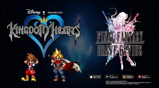 FINAL FANTASY y KINGDOM HEARTS anuncian evento de colaboración