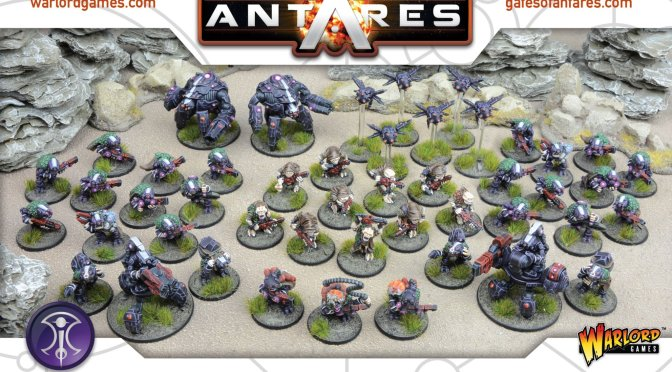Beyond the Gates of Antares / Armado de Miniaturas para Principiantes