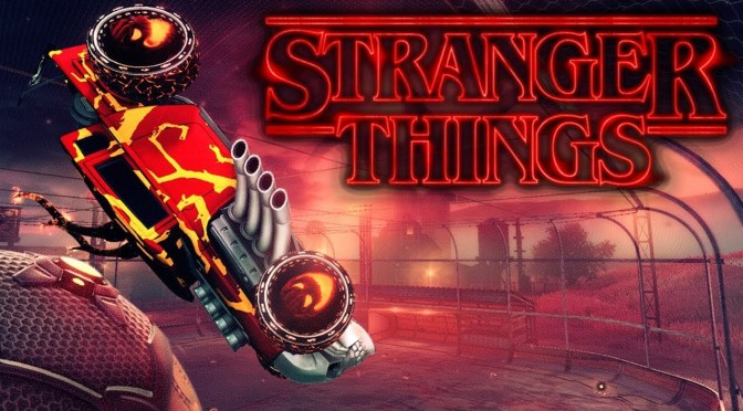 Stranger Things Coming to Rocket League on October 14