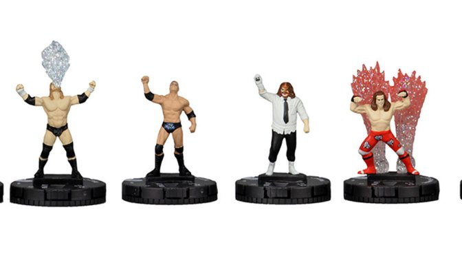 Celebrate the release of WWE HeroClix with the Mix Match Challenge Starter Set!
