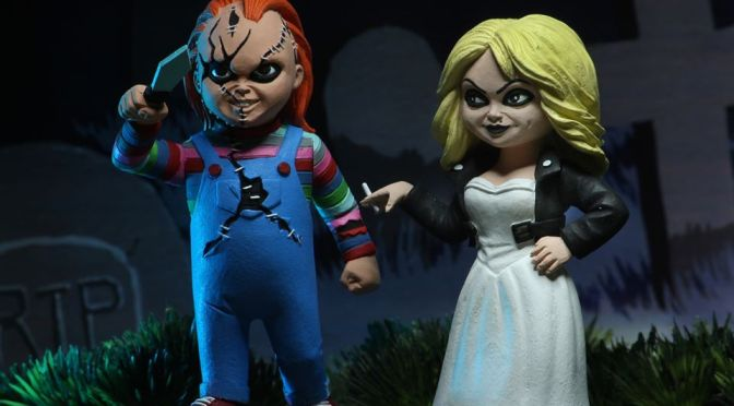 Now available in limited quantities on the NECA eBay & Amazon Bride of Chucky – 6″ Scale Figure – Chucky & Tiffany 2-pack!