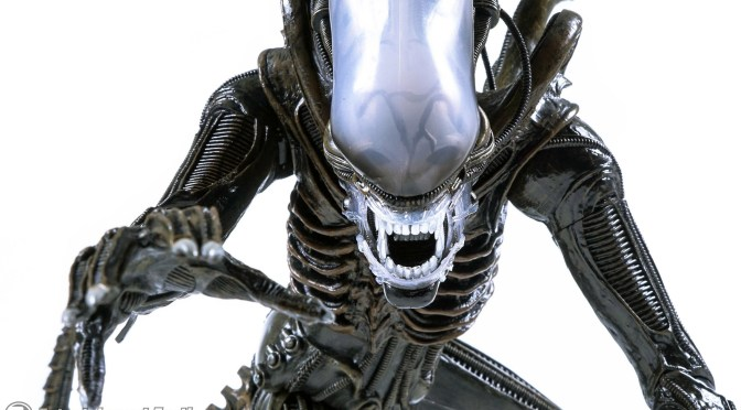 The final packaging for our Quarter Scale Alien Big Chap is here!