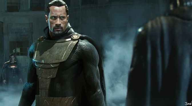 ¡The Rock confirma fecha de estreno de Black Adam!