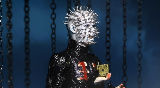 Time to raise a little hell this winter with our Ultimate Pinhead from Hellraiser!