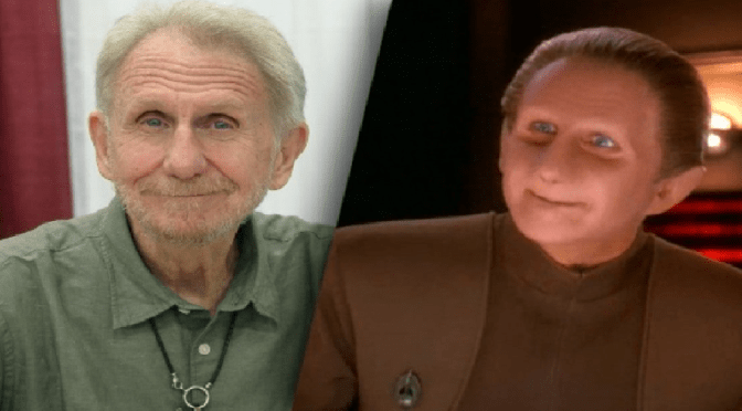Fallece el actor de Odo de Star Trek: Deep Space Nine, René Auberjonois