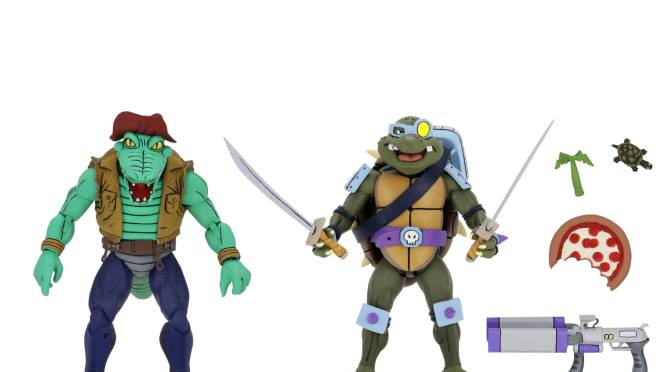 The official line up for the Target Exclusive TMNT Series 3 Cartoon 2 Packs
