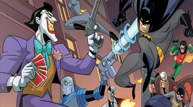 IDW Games' Kickstarter Launch: Batman The Animated Series 'Shadow of the Bat' TableTop