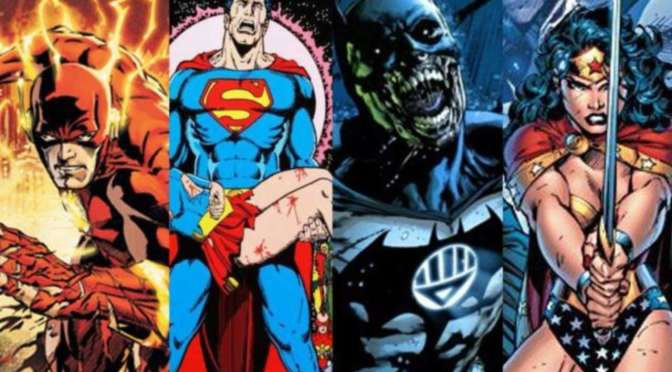 (C506) DC Crossovers memorables