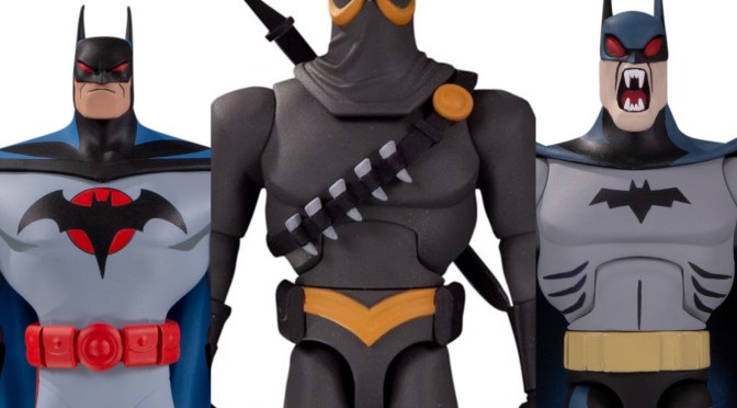 Batman: The Adventures Continue with Comics at Toy Fair