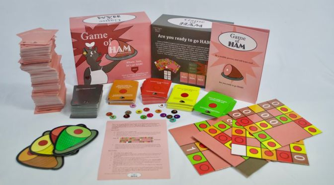 (C506) Boardgames: Game of HAM
