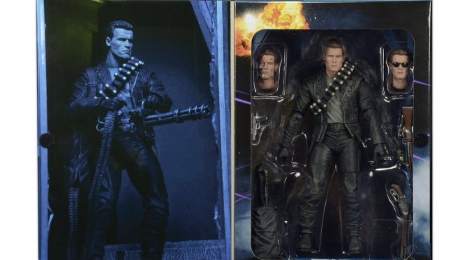 Back in-stock on the NECA  stores -7″ Action Figure – Ultimate Terminator T-800!