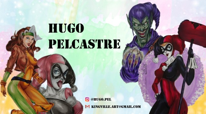 Featured comic's artists: Te invitamos a conocer el genial arte de Hugo Pelcastre