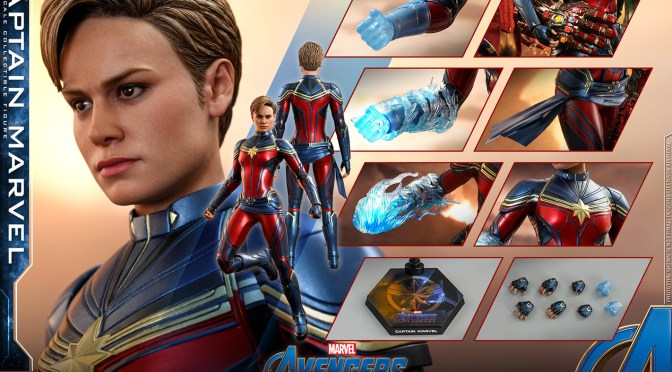 Captain Marvel 1/6 Hot Toys END Game ya disponible para preorden en Sideshow Chollectibles