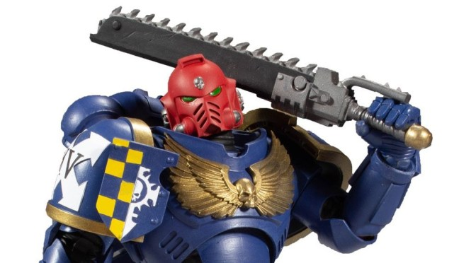 McFarlane Toys' Necron Warrior Shambles into Battle of Warhammer 40k Universe