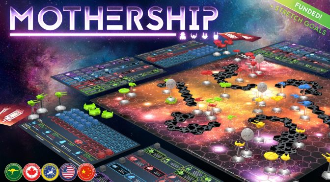Mothership expands its universe with a new campaign on Kickstarter