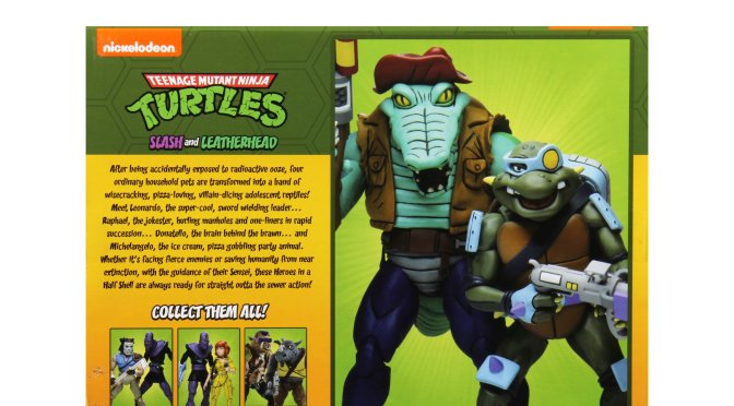 The newest set of Teenage Mutant Ninja Turtles Cartoon action figures will be popping up at Target stores in mid-July!