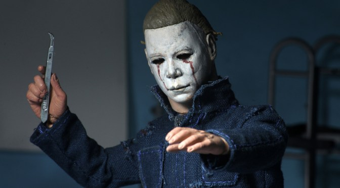 ICYMI – The final packaging photos for our upcoming Halloween 2 – 8″ Clothed Michael Myers