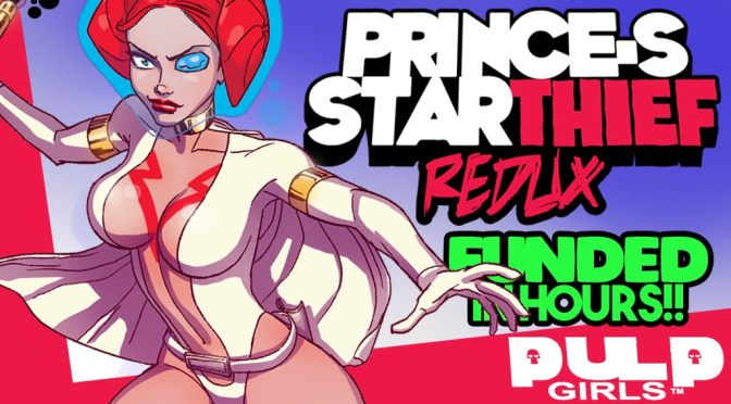 Discover Pulp Girls: PRINCE-S STARthief 1 REDUX, the new comic from creative duo Martin & Young