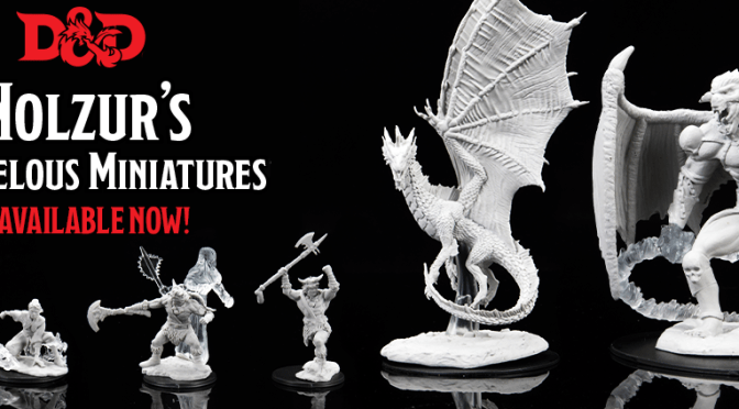 D&D NOLZUR'S MARVELOUS MINIATURES: AVAILABLE NOW!