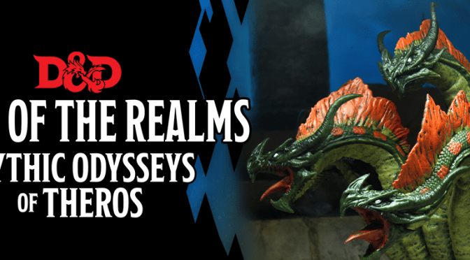 D&D ICONS OF THE REALMS: MYTHIC ODYSSEYS OF THEROS