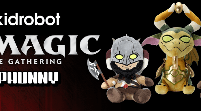 NEW! MAGIC: THE GATHERING PHUNNY BY KIDROBOT