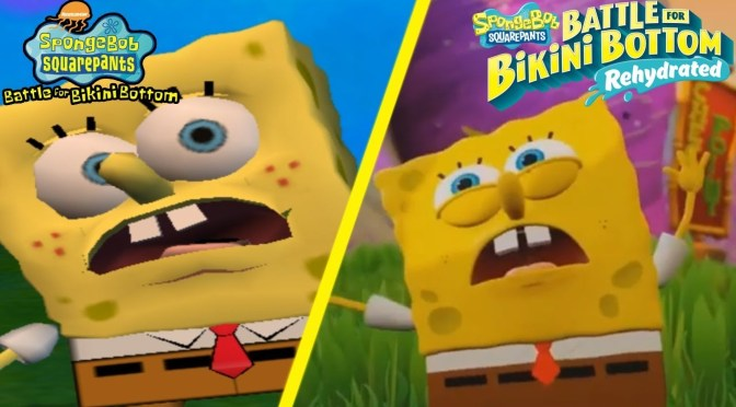 Reseña de Sponge Bob SquarePants: Battle for Bikini Bottom Rehydrated. Un clásico recibe una mano de pintura