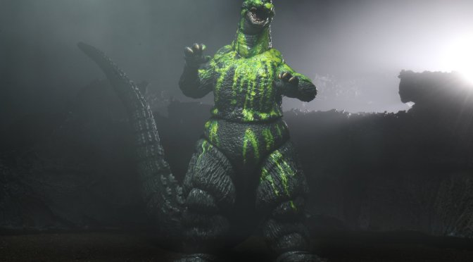 Final packaging and gallery photos of the upcoming Godzillas