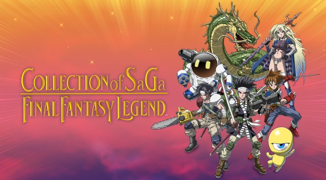"PREPÁRATE PARA LA SAGA DE TODA UNA VIDA EN ""COLLECTION OF SAGA FINAL FANTASY LEGEND"" PARA NINTENDO SWITCH"