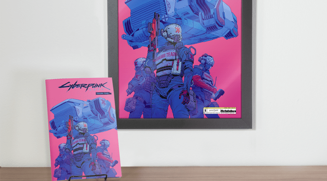 Cyberpunk 2077: Trauma Team #1 Exclusive Variant Bundle
