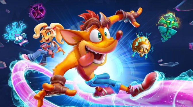 "Se presentan los niveles ""Flashback"" de Crash Bandicoot 4: It's About Time"