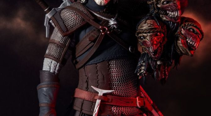The Witcher Figure Revealed by McFarlane Toys