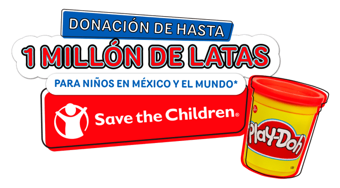 Hasbro y Save the Children se unen para repartir latas de bondad