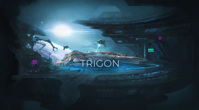 Trigon: Space Story, a space roguelike adventure game for Steam
