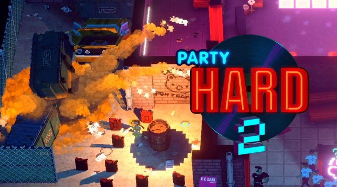Party Hard 2, the best party crashing simulator, is out on consoles!