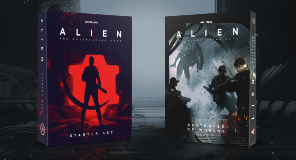 """""""Destroyer of Worlds"""" Module and Starter Set for the ALIEN RPG Launched Today"""