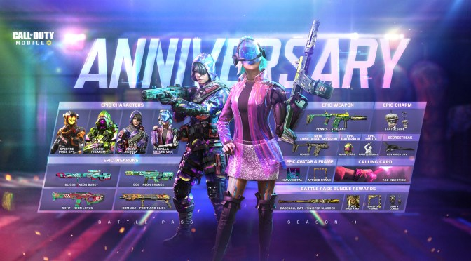 Call of Duty: Mobile Anniversary ya está disponible
